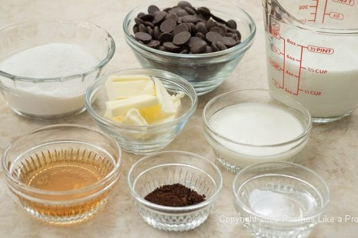 Chocolate Pie filling ingredient
