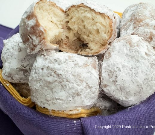 Basket of French Beignets