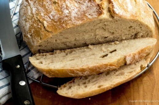 Cut No Knead Bread
