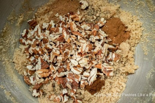 Pecans added