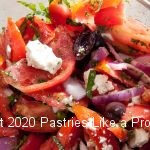Greek Tomato Salad for A Trio of Simple Side Salads