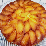 Caramelized Peach Tart for Two Blogs for Your Consideration