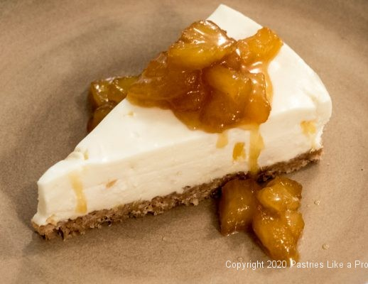 Pina Colada No Bake Cheesecake