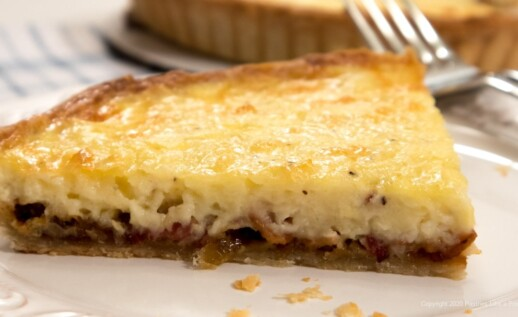 Brie and Bacon Tart