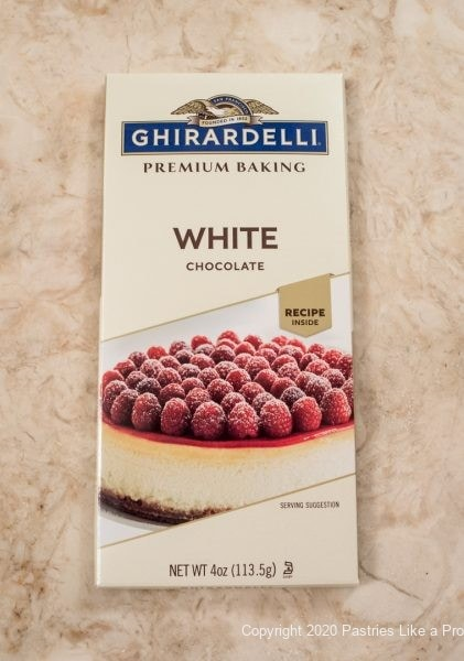 White Chocolate package