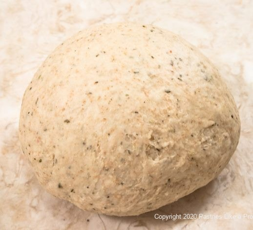 Herb and Cheese Bread kneaded