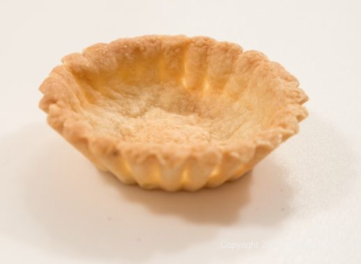 Small pastry shell