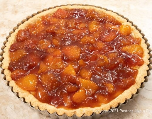 Caramelized Peaches in shell